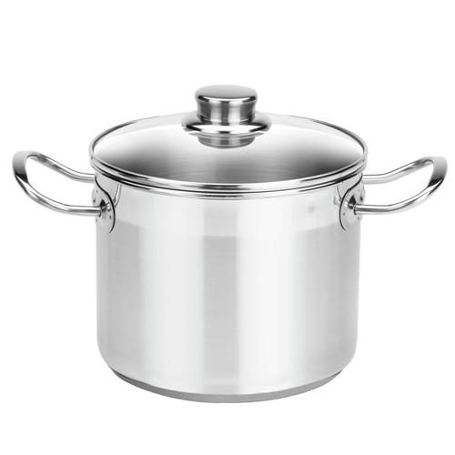 Menaje para cocina balay olla con tapa base 18 cm acero for Grifo cocina pared 15cm