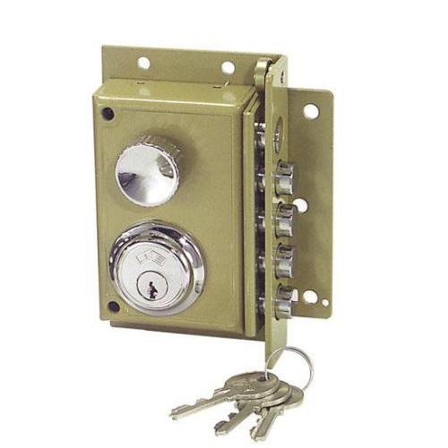 Cerraduras para puerta cerradura 240 cilindro fijo for Puerta plegable con cerradura