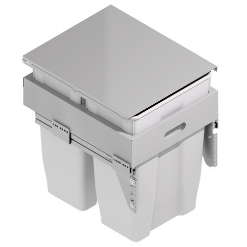 Cubos de basura cubo basura ecol gico frontal n - Cubos de basura extraibles ...
