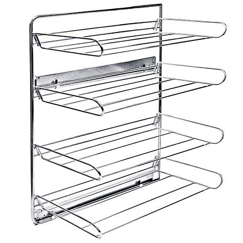 Interior armario zapatero lateral 4 cestas extra ble for Interior armario zapatero